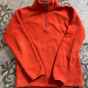 Men's North Face thermal 1/4 zip